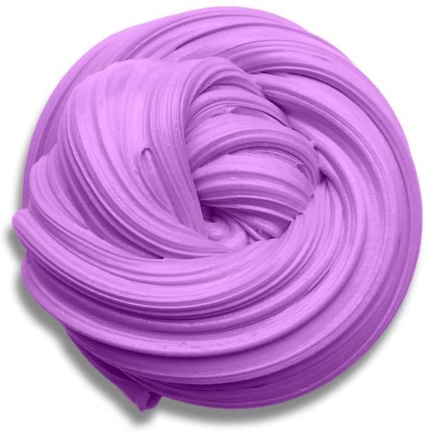 Juliana Purple Stress Relief fluffy Slime putty Toy for kids and adult Purple Putty Toy