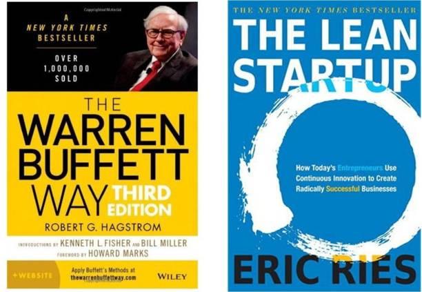 Combo Of 2 Books: The Warren Buffett Way + The Lean Startup