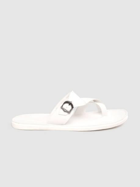 MAST & HARBOUR Men White Sandals