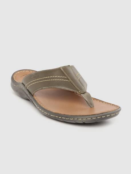 CLARKS Men Olive Sandals