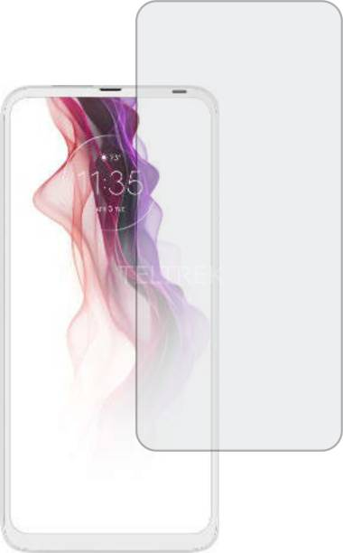 TELTREK Tempered Glass Guard for MOTOROLA MOTO ONE FUSION PLUS (Matte Finish, Flexible)