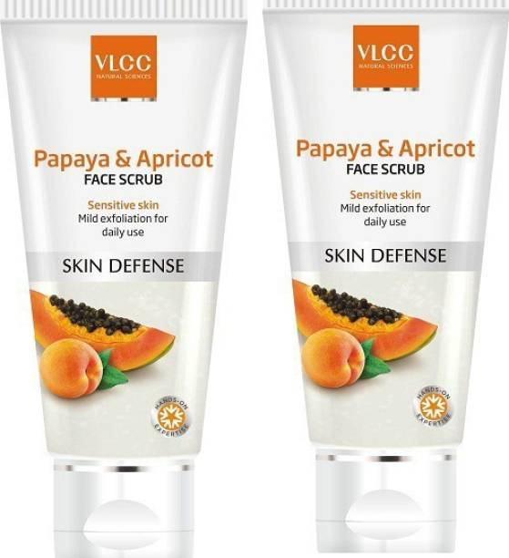 VLCC Papaya & Apricot (Pack of 2) Scrub