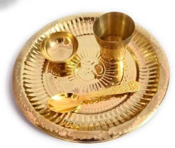 SBBCO Laddu Gopal/Kanha ji /Thaku ji Decorative Showpiece  -  8 cm