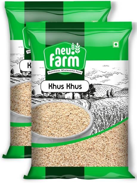 Neu.Farm Khus Khus - Poppy Seeds - Posta Dana - Premium Quality - Pack of 2