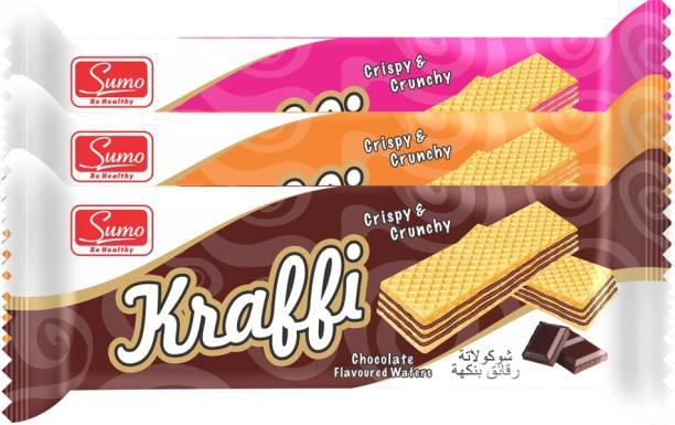 SUMO Kraffi Flavored Crispy & Crunchy Wafers Wafers
