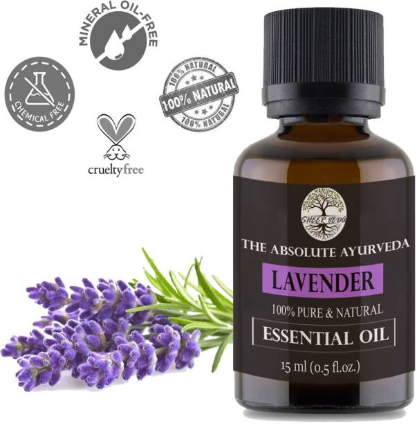 Sheer Veda Lavender Essential Oil, Pure, Natural and Undiluted for Skin, Hair and Aromatherapy.