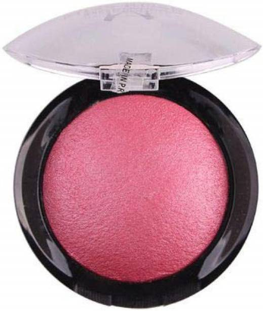 Wiffy BLUSHING CHEEKS, FACE MAKEUP BLUSHER FOR WOMEN, SHADE NO. 4 PINK, 9 GRAM
