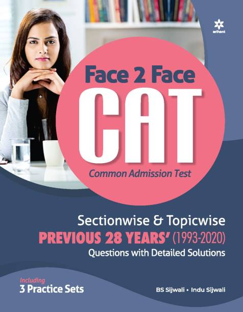 Face To Face CAT 28 years Sectionwise & Topicwise solved paper 2021