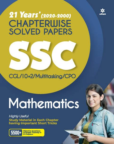 Ssc Chapterwise Solved Papers Mathematics 2021