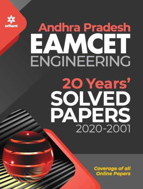 Andhra Pradesh Eamcet Engineering 20 Years Solved Papers 2021