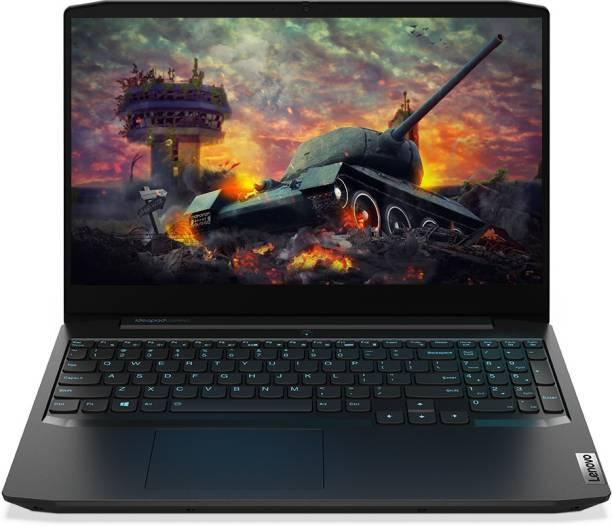 Lenovo Ideapad Gaming 3 Ryzen 5 Hexa Core 4600H - (8 GB/1 TB HDD/256 GB SSD/Windows 10 Home/4 GB Graphics/NVIDIA GeForce GTX 1650/60 Hz) 15ARH05 Gaming Laptop
