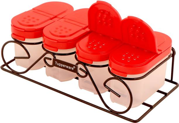 TUPPERWARE Tupperware Spice Shaker Set Each Container Capacity 100ml With Stand 1 Piece Seasoning Shaker Set