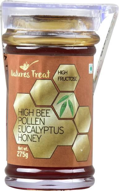 Natures Treat High Bee Pollen Ecualyptus Honey