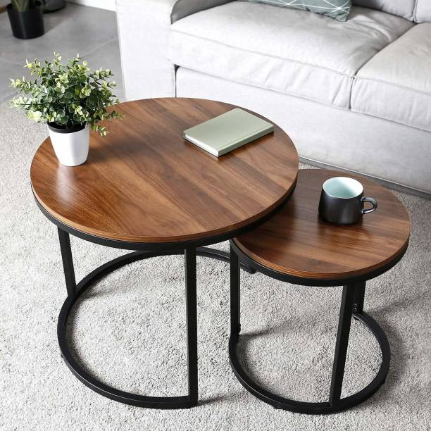 PRITI Coffee Table for Living Room Engineered Wood Nesting Table