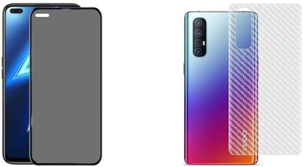 INCLU Front and Back Tempered Glass for Oppo Reno 3 Pro