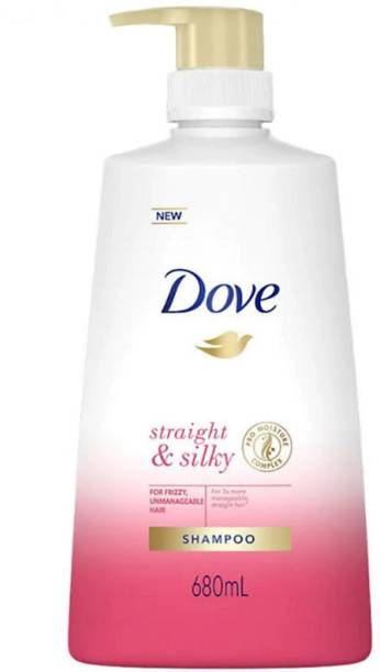 DOVE Straight & Silky Shampoo