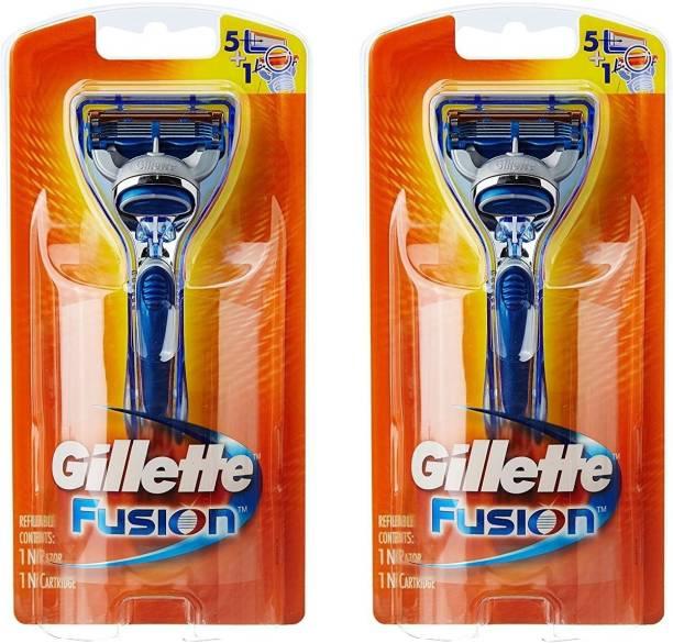 GILLETTE Fusion Razor Pack Of 2