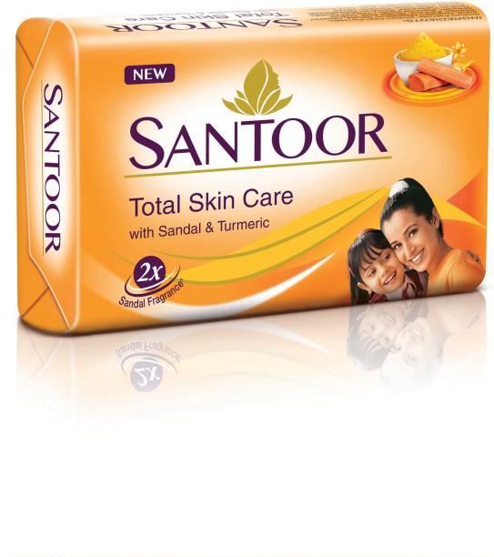 santoor Sandal & Turmeric Soap