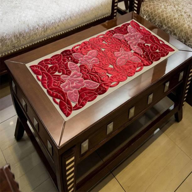Groki Red, White 84 cm Table Runner
