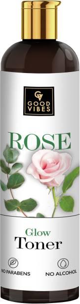 GOOD VIBES Rose Glow Toner (500 ml) Men & Women