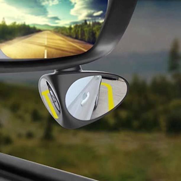 LAVITRA Manual Blind Spot Mirror, Rear View Mirror, Dual Mirror For Maruti Suzuki, Hyundai, Opel, Volkswagen, Audi Swift Dzire
