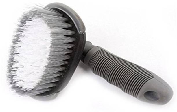 AutoBizarre Plastic Vehicle Washing  Tyre Cleaner Brush