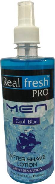 real fresh After Shave Lotion Cool Blue Mint
