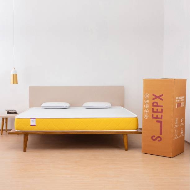 SleepX Apt 6 inch King PU Foam Mattress