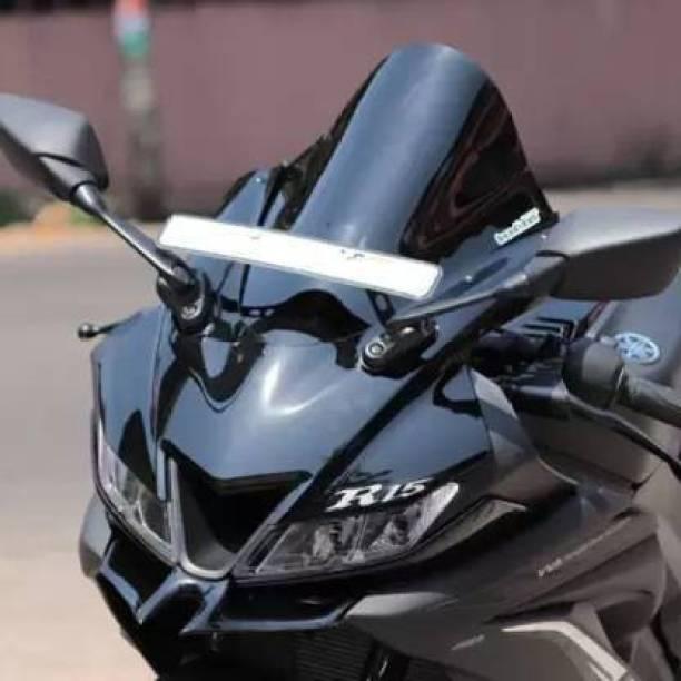Santech R15 V3 YMAHA WINDSHIELD Bike Headlight Visor