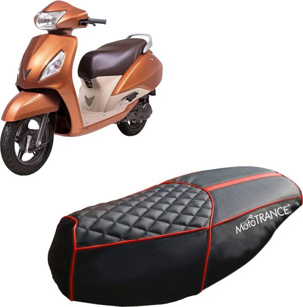 MOTOTRANCE MTSC36234-1 Single Bike Seat Cover For TVS Jupiter