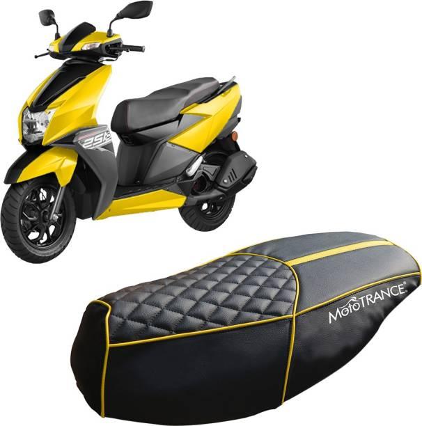 MOTOTRANCE MTSC36246-1 Single Bike Seat Cover For TVS NTorq 125