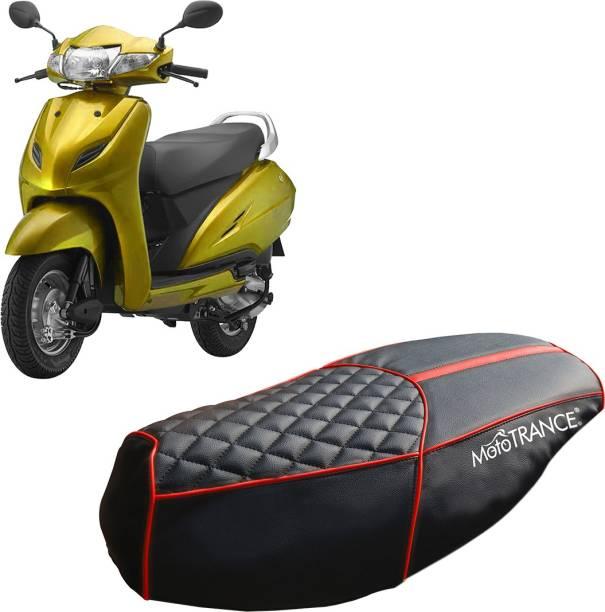 MOTOTRANCE MTSC36154-1 Single Bike Seat Cover For Honda Activa 4G