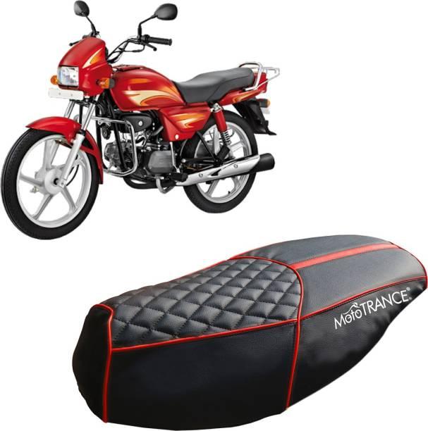 MOTOTRANCE MTSC36124-1 Single Bike Seat Cover For Hero Splendor