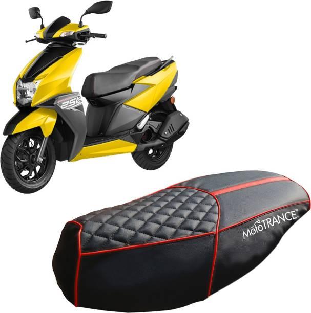 MOTOTRANCE MTSC36244-1 Single Bike Seat Cover For TVS NTorq 125