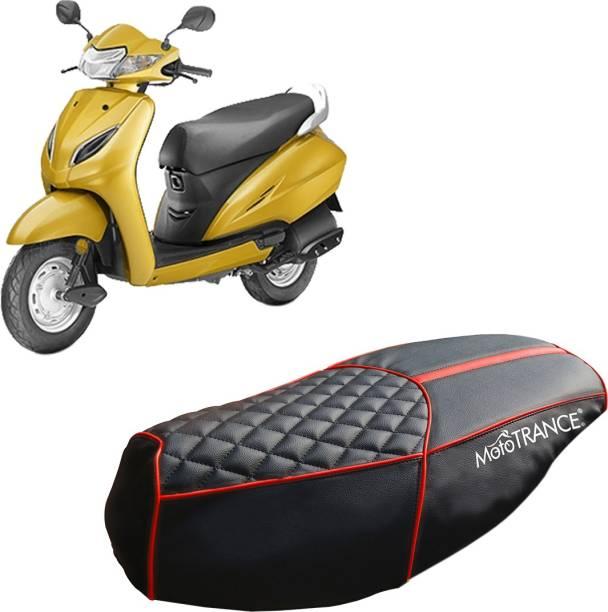 MOTOTRANCE MTSC36144-1 Single Bike Seat Cover For Honda Activa 3G
