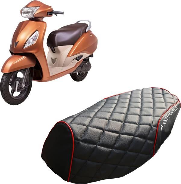 MOTOTRANCE MTSC36238-1 Single Bike Seat Cover For TVS Jupiter