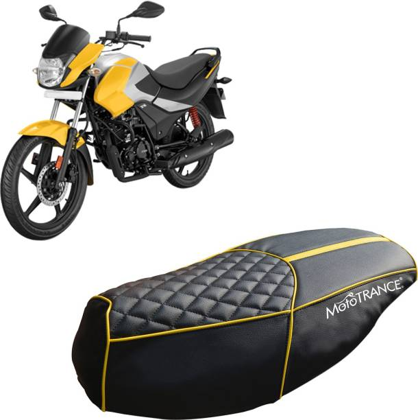 MOTOTRANCE MTSC36096-1 Single Bike Seat Cover For Hero Passion Pro