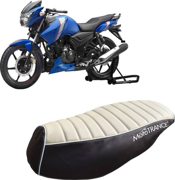 MOTOTRANCE MTSC36221-1 Single Bike Seat Cover For TVS Apache RTR 160