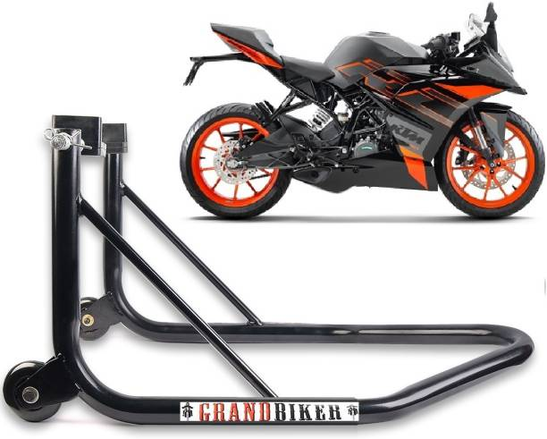 Grandbiker Rear Wheel Paddock Stand Extra Strong with Swing Arm Rest For All Bike Bike Storage Stand For KTM-RC Bike Storage Stand