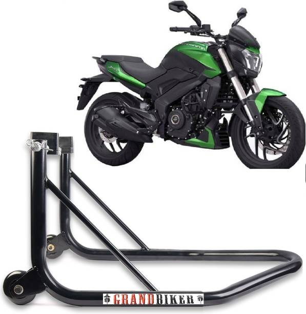 Grandbiker Rear Wheel Paddock Stand Extra Strong with Swing Arm Rest For All Bike Bike Storage Stand For Dominar Bike Storage Stand