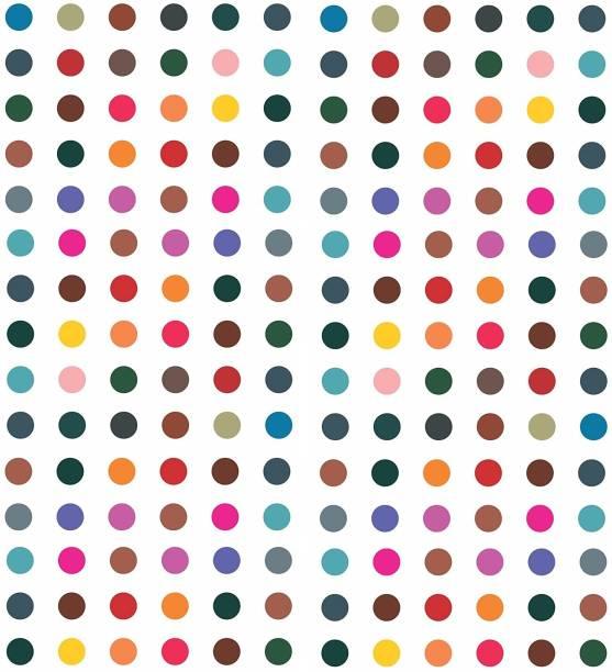 Vama Fashions Round Multicolour Bindi Sticker Daily Use Simple Forehead Kumkum Bindiya For women ( Size 5mm ,Pack of 180 Bindis ) Forehead Multicolor Bindis