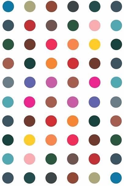 Vama Fashions Round Multicolour Bindis Sticker Daily Use simple Forehead Kumkum Bindiya For women (Size 6mm ,Pack of 180 Bindis) Forehead Multicolor Bindis