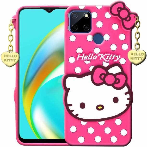 BOZTI Back Cover for Realme Narzo 20, Realme C12, Cute Hello Kitty Case