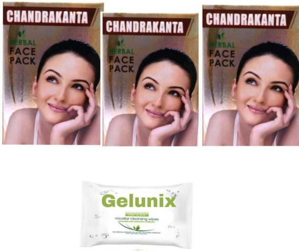 gelunix WIPES AND FACE PACK