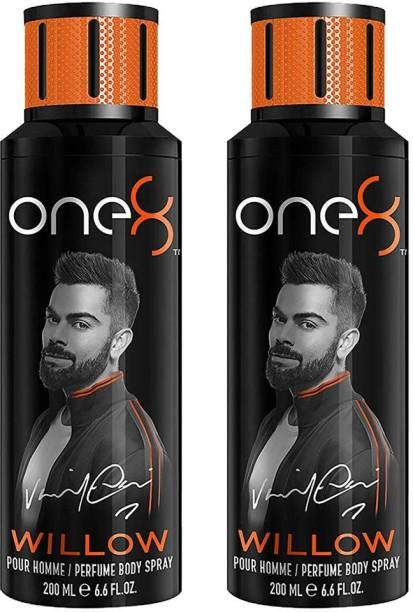 one8 by Virat Kohli Deodorant Spray For Men 200 Ml *.2Pcs Deodorant Spray  -  For Men