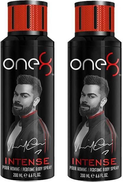 one8 by Virat Kohli - Intense Deodorant Spray For Men 200 Ml *2Pcs Deodorant Spray  -  For Men