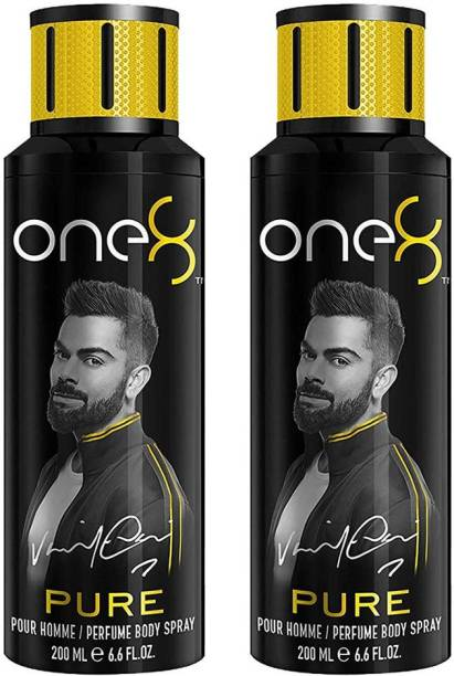 one8 by Virat Kohli Pure Deodorant Spray For Men 200 Ml *2Pcs Deodorant Spray  -  For Men