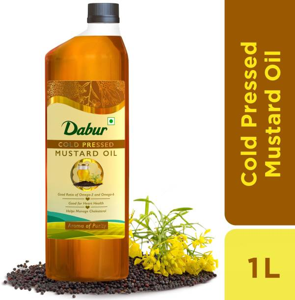 Dabur Cold Pressed Mustard Oil Plastic Bottle