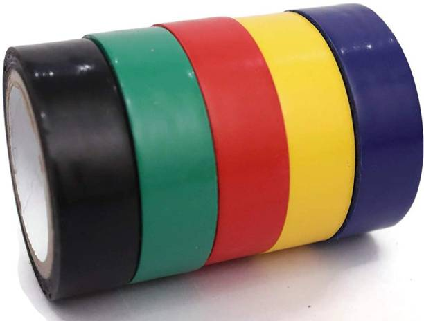 cabsun PVC Tape SELF ADHESIVE PVC INSULATION TAPE F-R PACK of 30