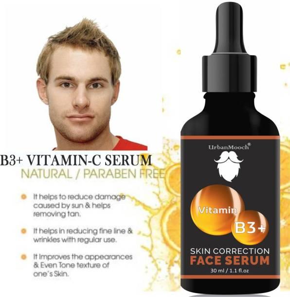 UrbanMooch Organic Vitamin B3 Serum- For Skin Glow & AntiAging-